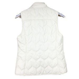 Vineyard Vines Jackets & Coats - Vineyard Vines Cream Puffer Vest